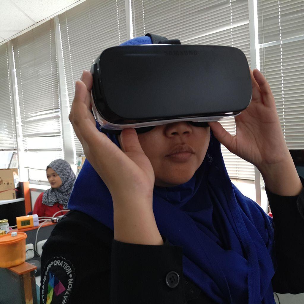 Olimpiade Pemuda Hadir di Galaxy Gear VR