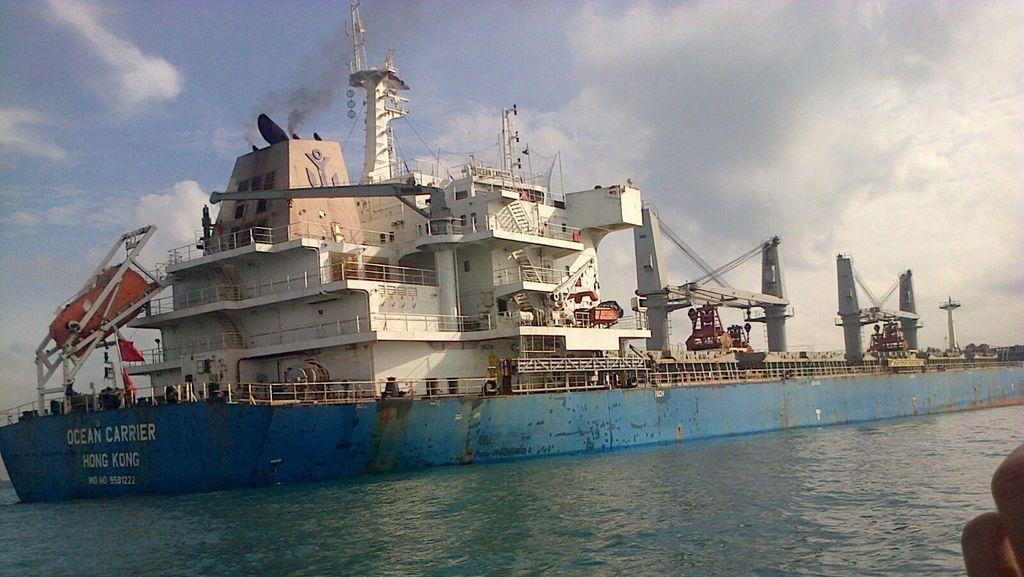 Tak Terbukti Bawa Uranium, Kapal Hongkong yang Kandas di Batam Diizinkan Kembali Berlayar