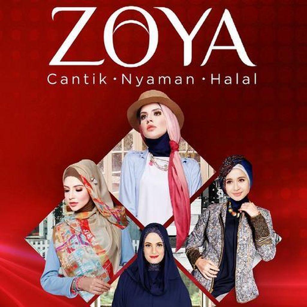 Zoya Minta Maaf Soal Heboh Kerudung Halal