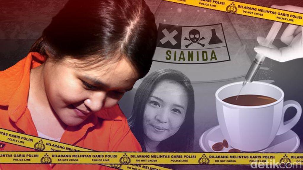 Selain Adegan Tuangkan Racun, Jessica Juga Tolak Keterangan Karyawan Kafe