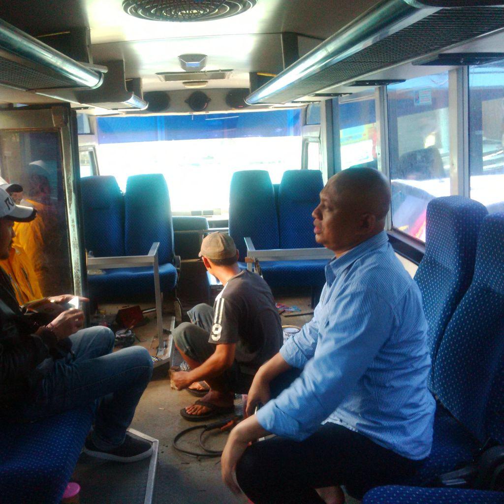 Bus Mati Suri Ini Disulap Polrestabes Bandung Jadi SKCK Keliling