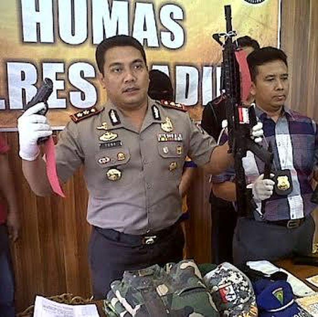 Pria Bawa Airsoft Gun Tembaki Polisi dan Lukai Warga Diamankan