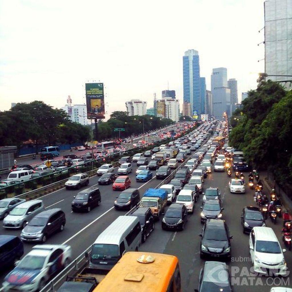 Lepas Libur Imlek, Jalanan di Jakarta Sudah Padat Lagi
