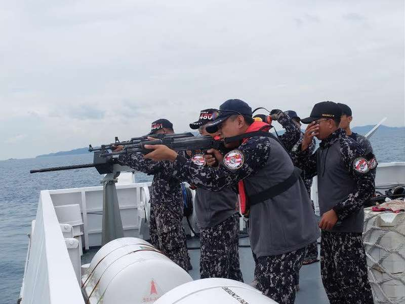 Situasi Ini Memungkinkan Bakamla Kontak Senjata Saat Jaga Keamanan Laut