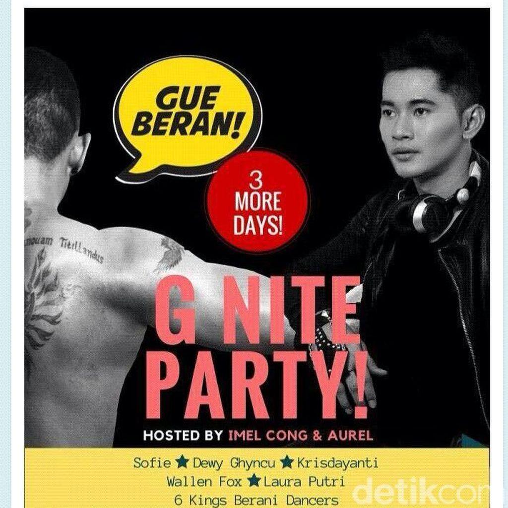 Panitia Tepis G Nite Party Terkait LGBT: Ini Sosialisasi Bahaya HIV/AIDS