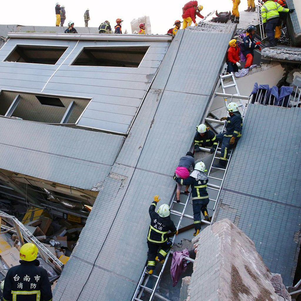 Korban Tewas Gempa Taiwan Jadi 11 Orang, Salah Satunya Bayi Usia 10 Hari