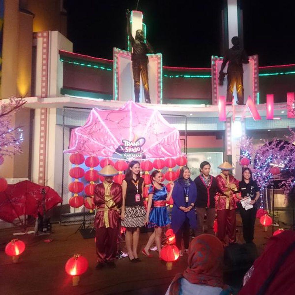 Liburan Imlek di Trans Studio Makassar, Ada Pertunjukan & Diskon Spesial