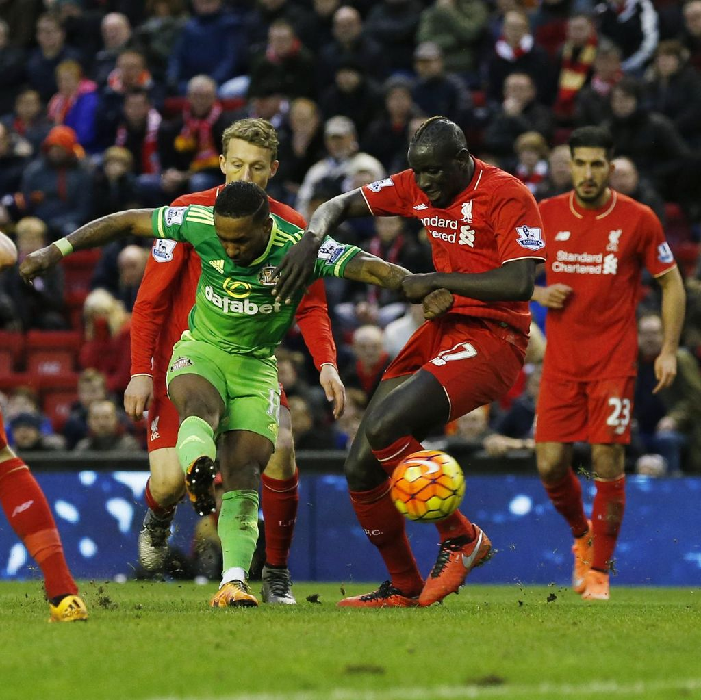 Buang Keunggulan Dua Gol, Liverpool Diimbangi Sunderland 2-2