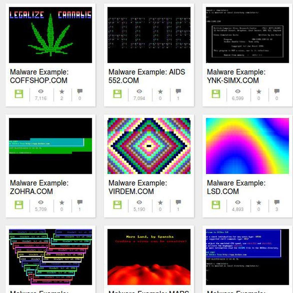 Bentuk Malware Unik, dari Mariyuana Sampai Mirip Batik