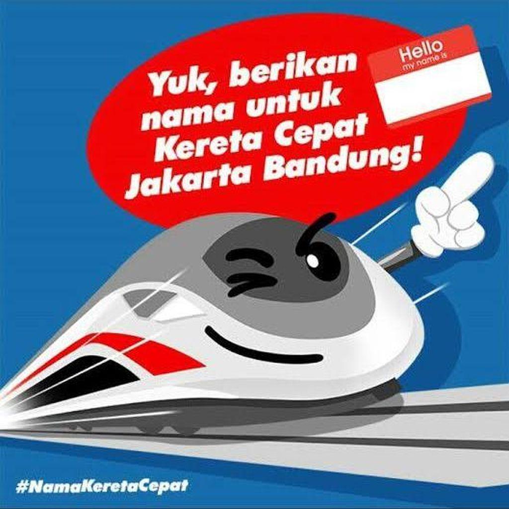 Yuk! Beri Nama untuk Kereta Cepat Jakarta-Bandung