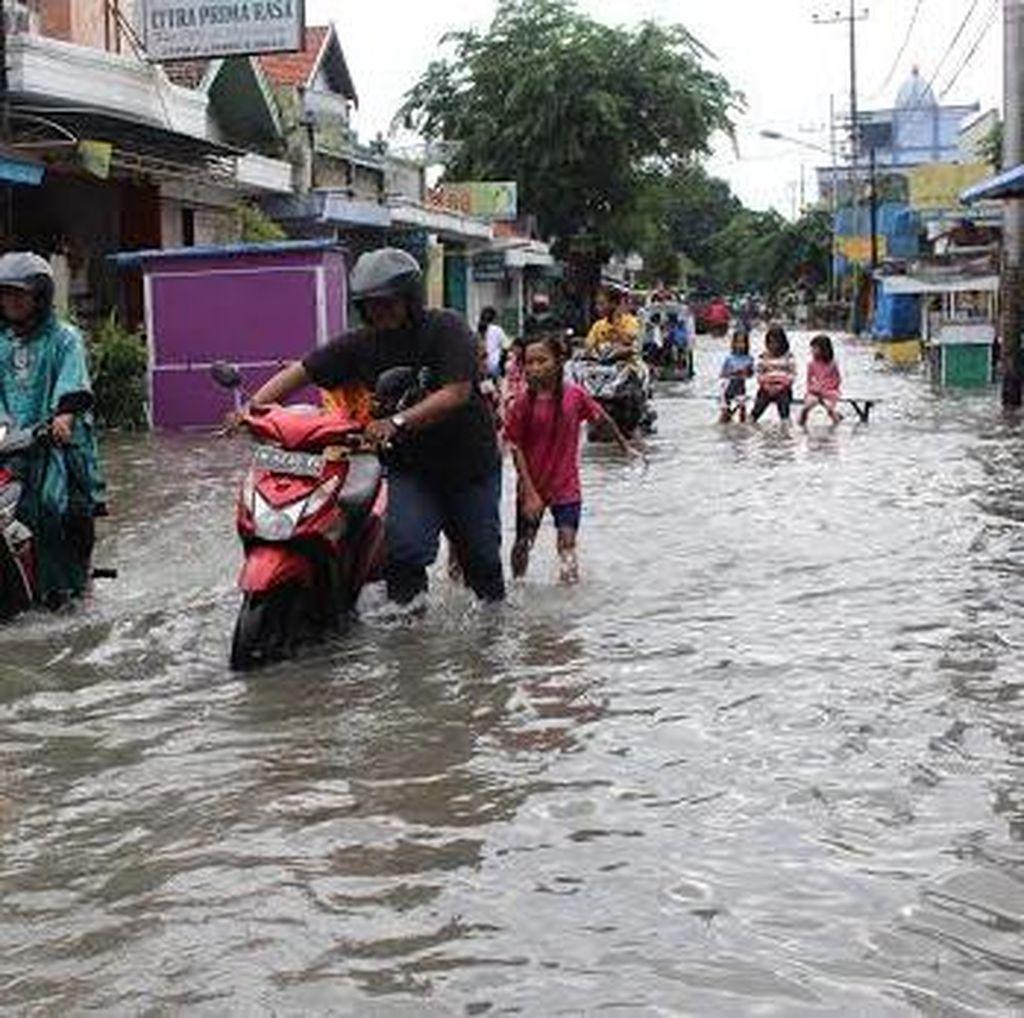 Hujan Dua Hari, Wilayah Sidoarjo Diterjang Banjir