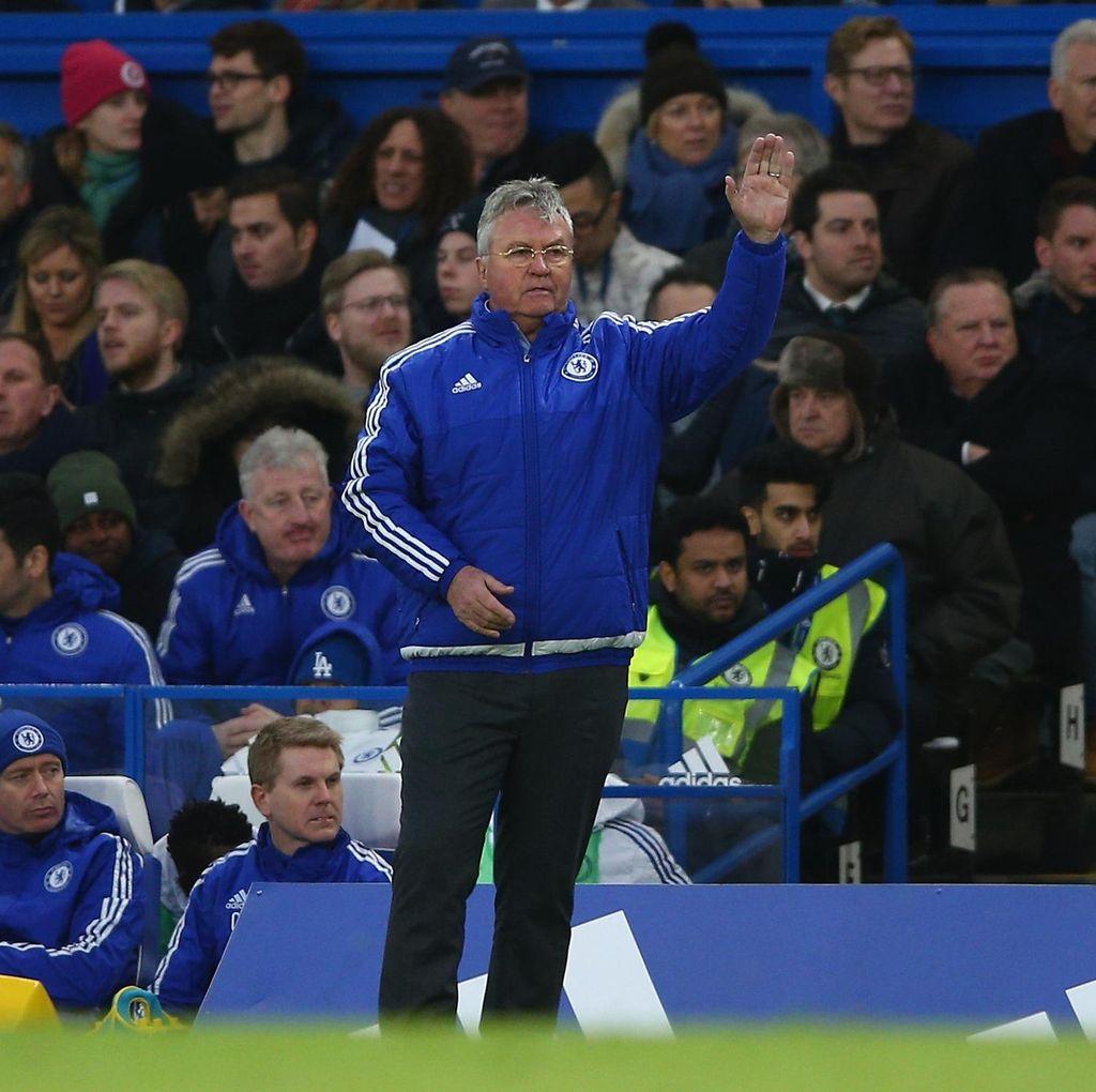 Hiddink Puas dengan Reaksi Chelsea