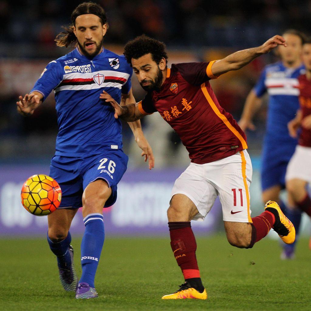 Sempat Dibuat Kerepotan, Roma Atasi Sampdoria 2-1