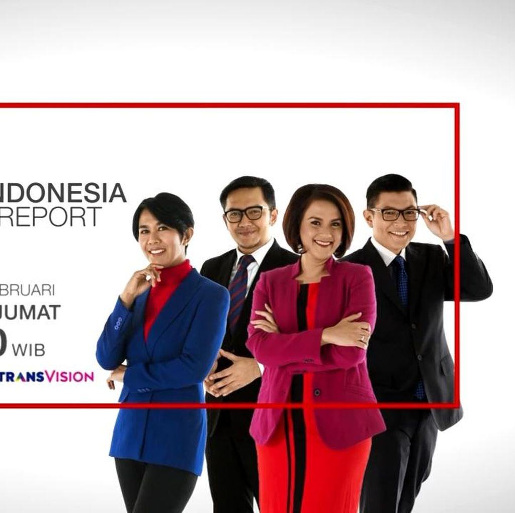 Mulai Hari Ini, CNN Indonesia News Report Tayang di Trans TV dan CNN Indonesia