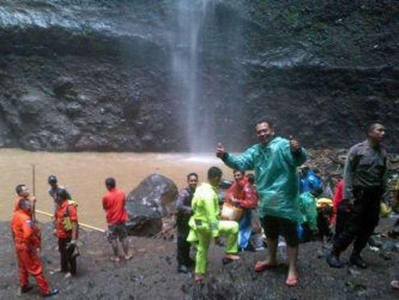 Pelajar asal Surabaya Tenggelam di Wisata Air Terjun Mada Karipura