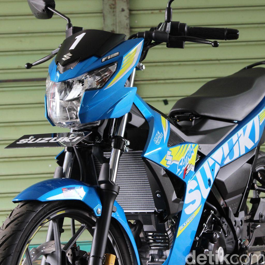 Tampilan Asli Suzuki Satria F150 Terbaru