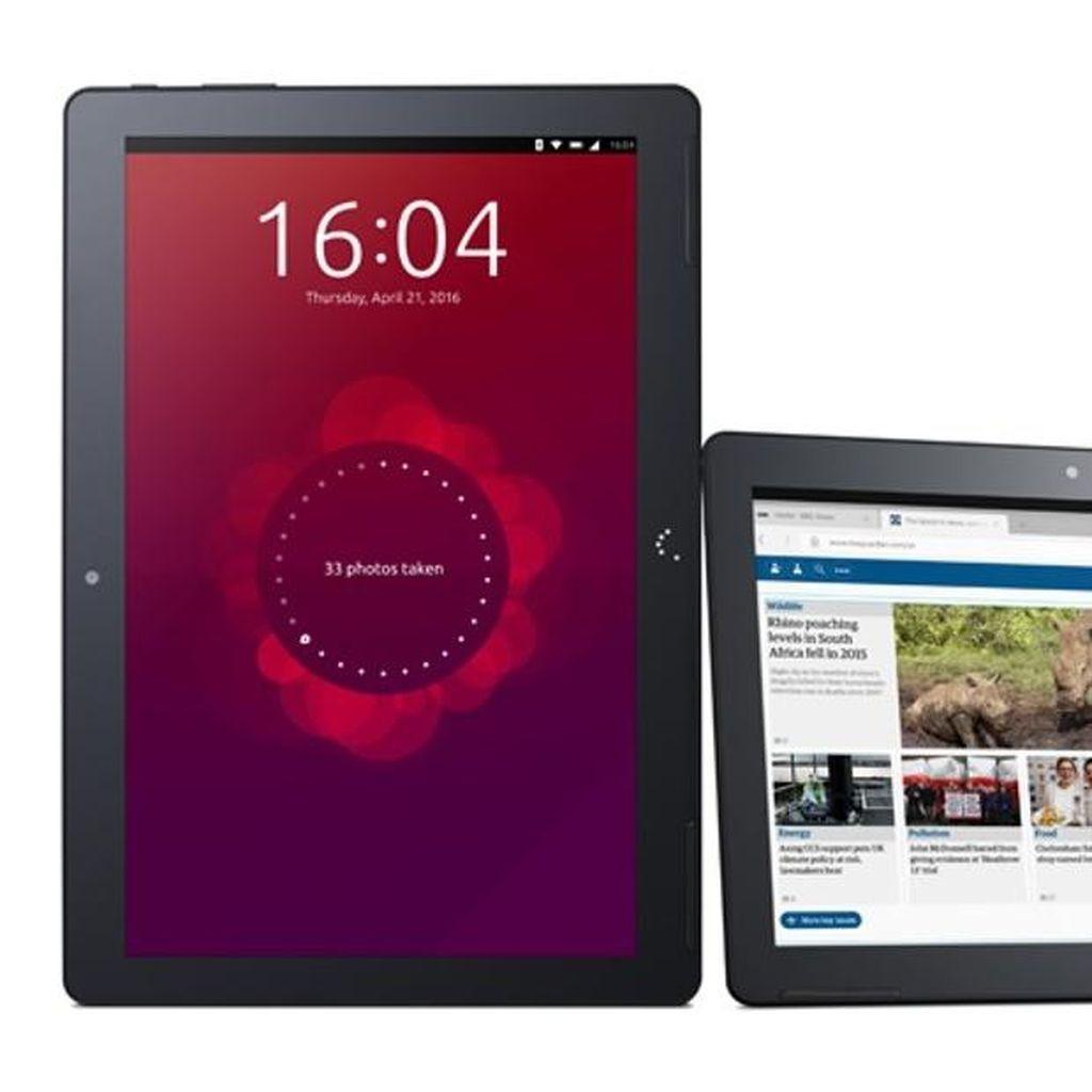 Tablet Pertama Ubuntu Akhirnya Meluncur, Spesifikasinya?
