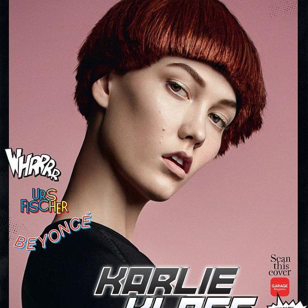 Ketika Supermodel Tampil Seperti Superhero Marvel di Sampul Majalah Garage