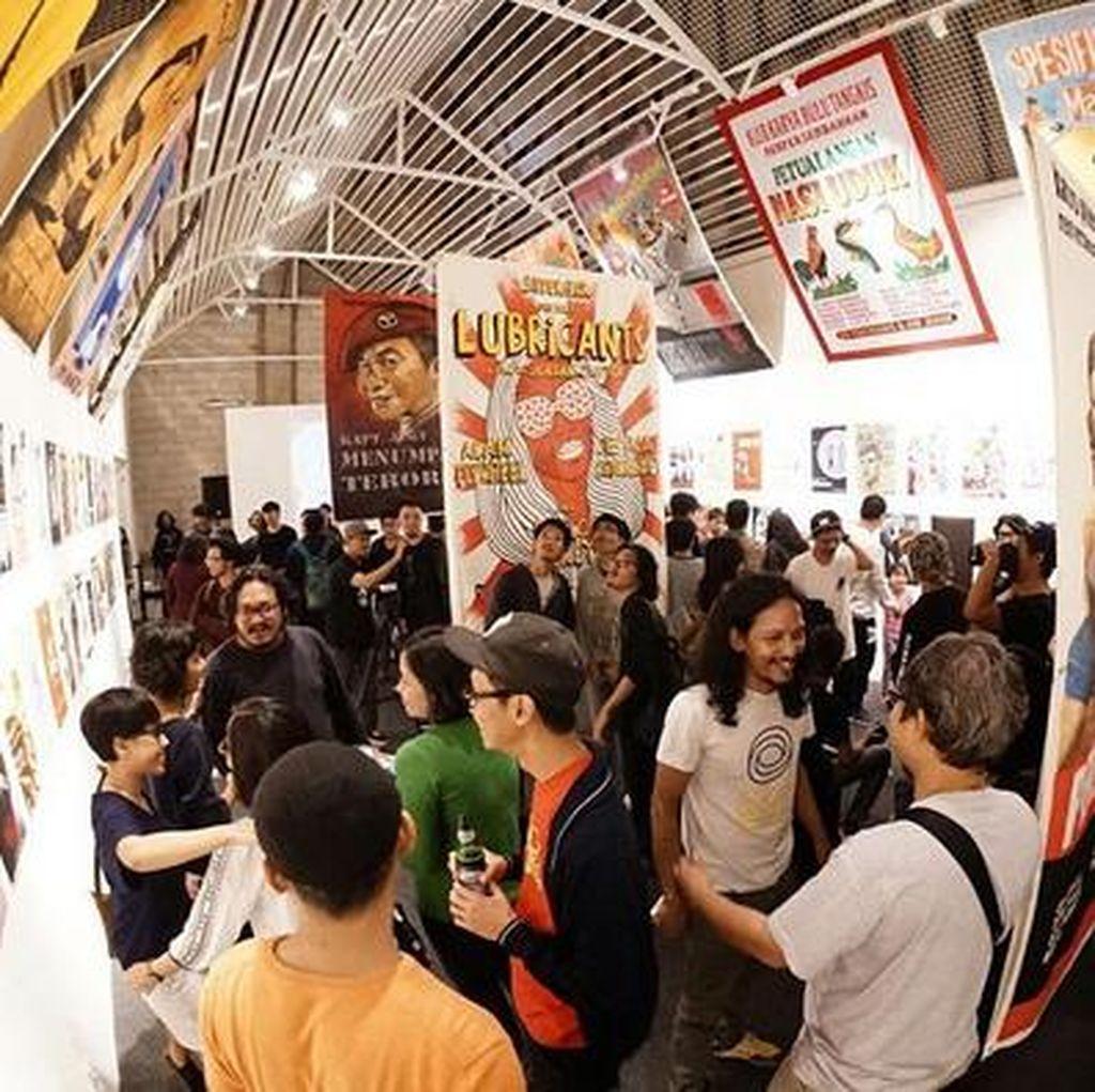 Puluhan Seniman Visual Me-REKLAMe-KAN PELeM di APA Artspace