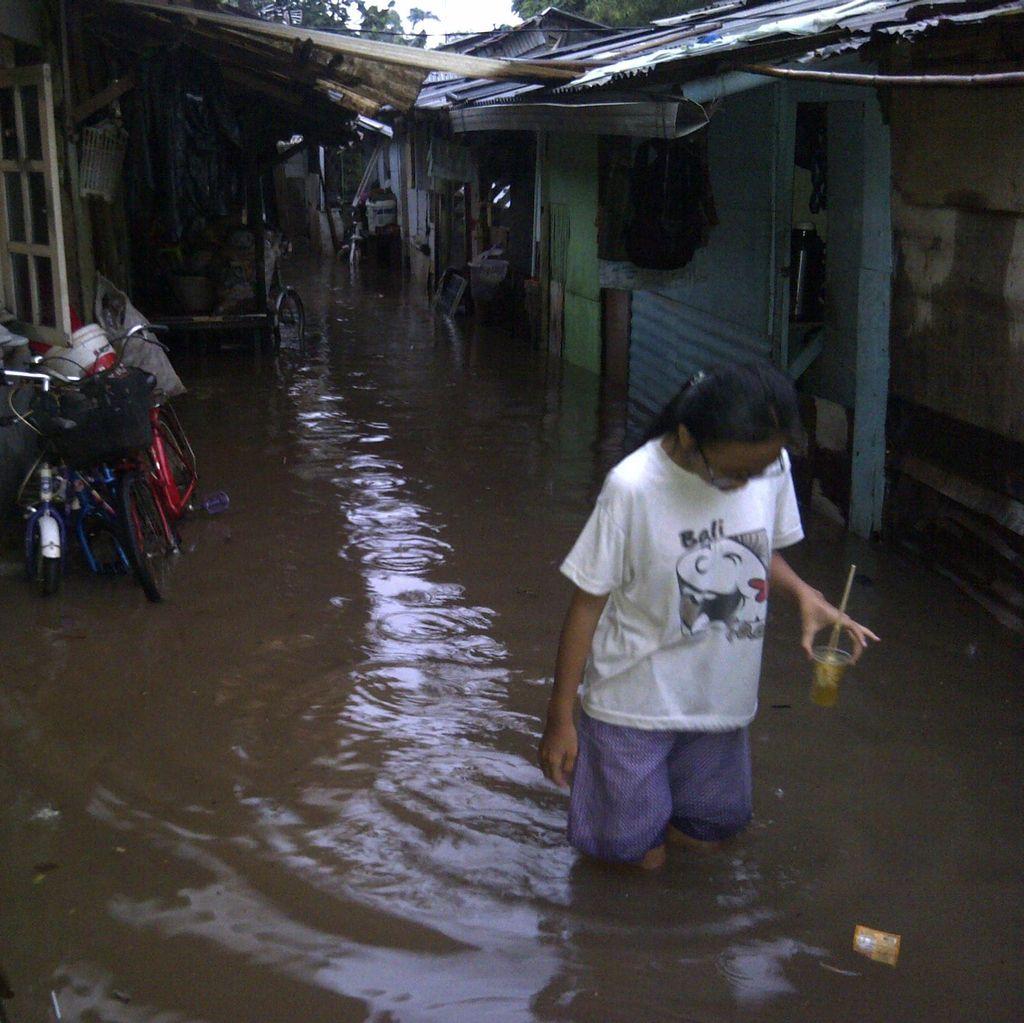 Diguyur Hujan Deras, Puluhan Rumah di Pondok Labu Terendam Banjir