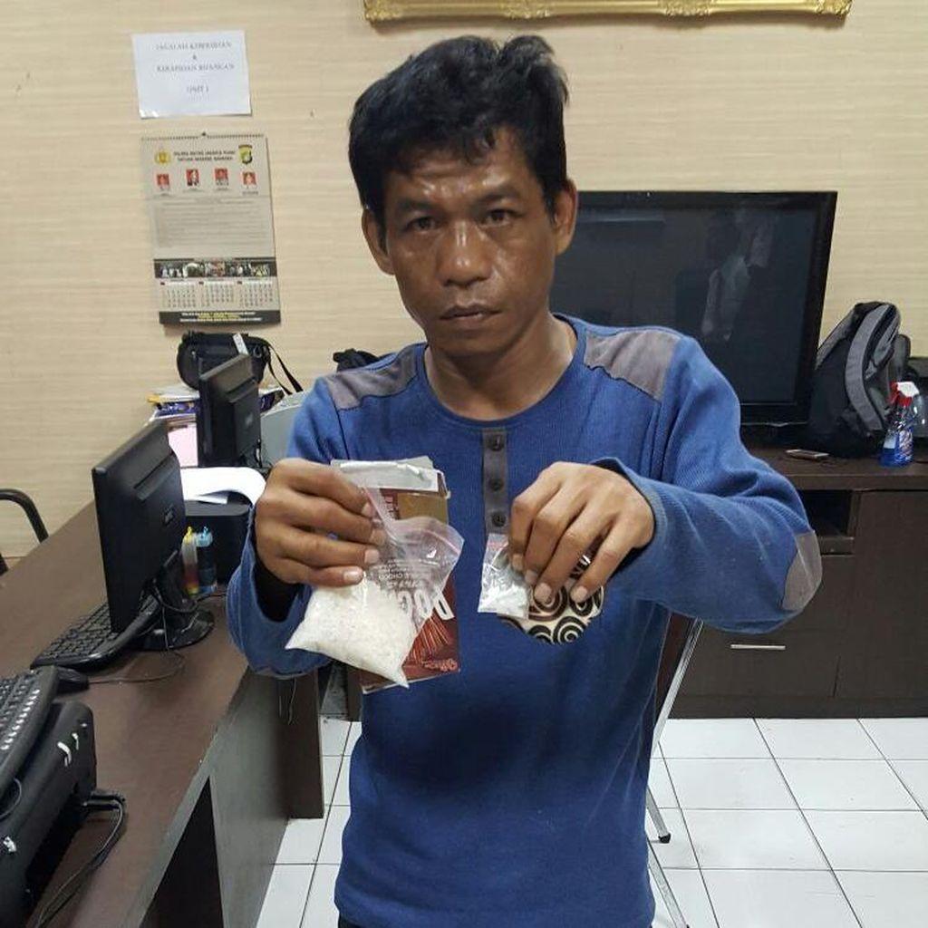 Pengedar Sabu di Kebayoran Ditangkap Polres Jakpus