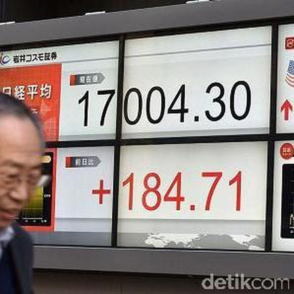 Bursa Saham Jepang Anjlok 5%