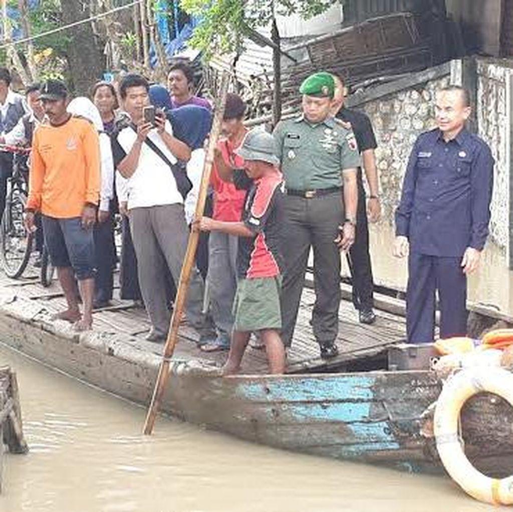 Banjir di Bojonegoro Siaga Dua, Bupati Instruksikan Camat dan SKPD Bersiaga