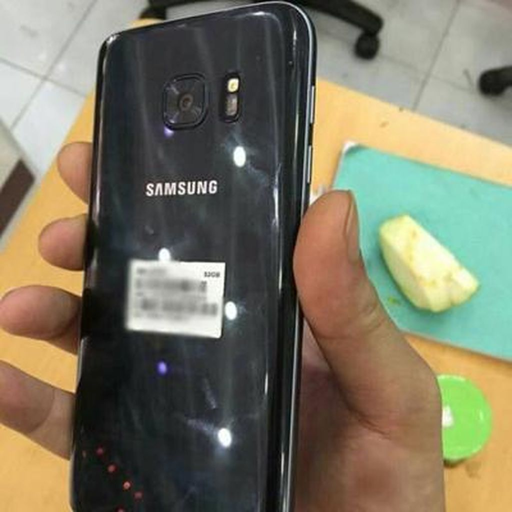 Galaxy S7 Tahan Air?