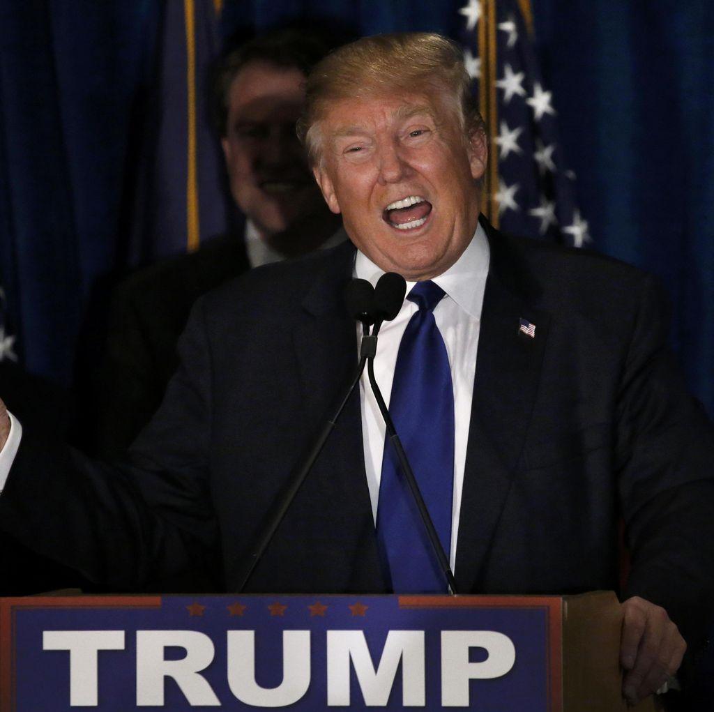 Trump Menangi Pemilihan Awal di New Hampshire, Hillary Kalah dari Sanders