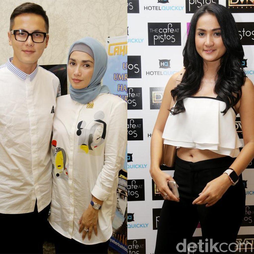 Ussy Sulistiawaty Tampil Berhijab, Tengku Dewi Pamer Perut