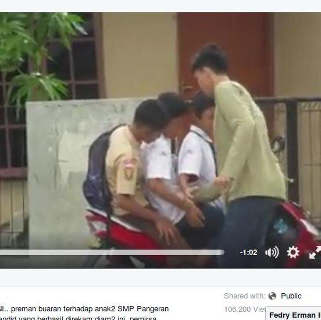 Ramai di Sosmed, Beredar Video Bocah SMP Dipalak Preman di Buaran