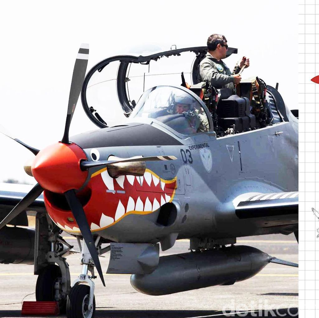 Ini Daftar Kecelakaan Pesawat TNI 12 Tahun Terakhir