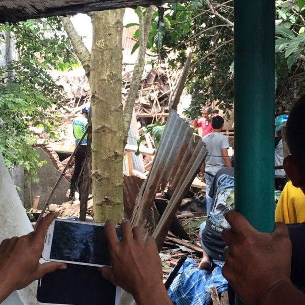 Penampakan Foto dari Lokasi Kecelakaan Pesawat Super Tucano