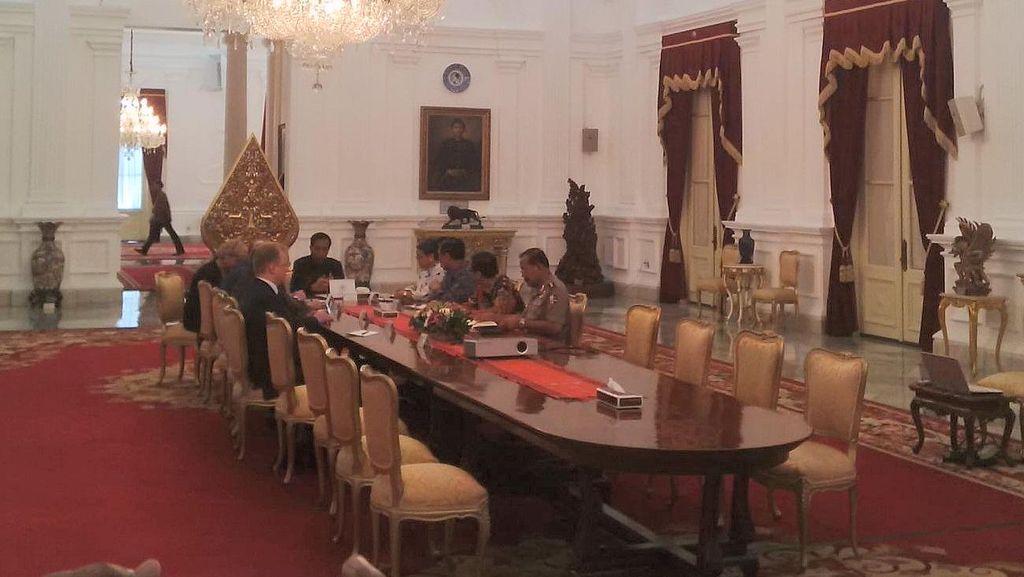 Jokowi dan Dewan Keamanan Rusia Bahas Kerja Sama Keamanan