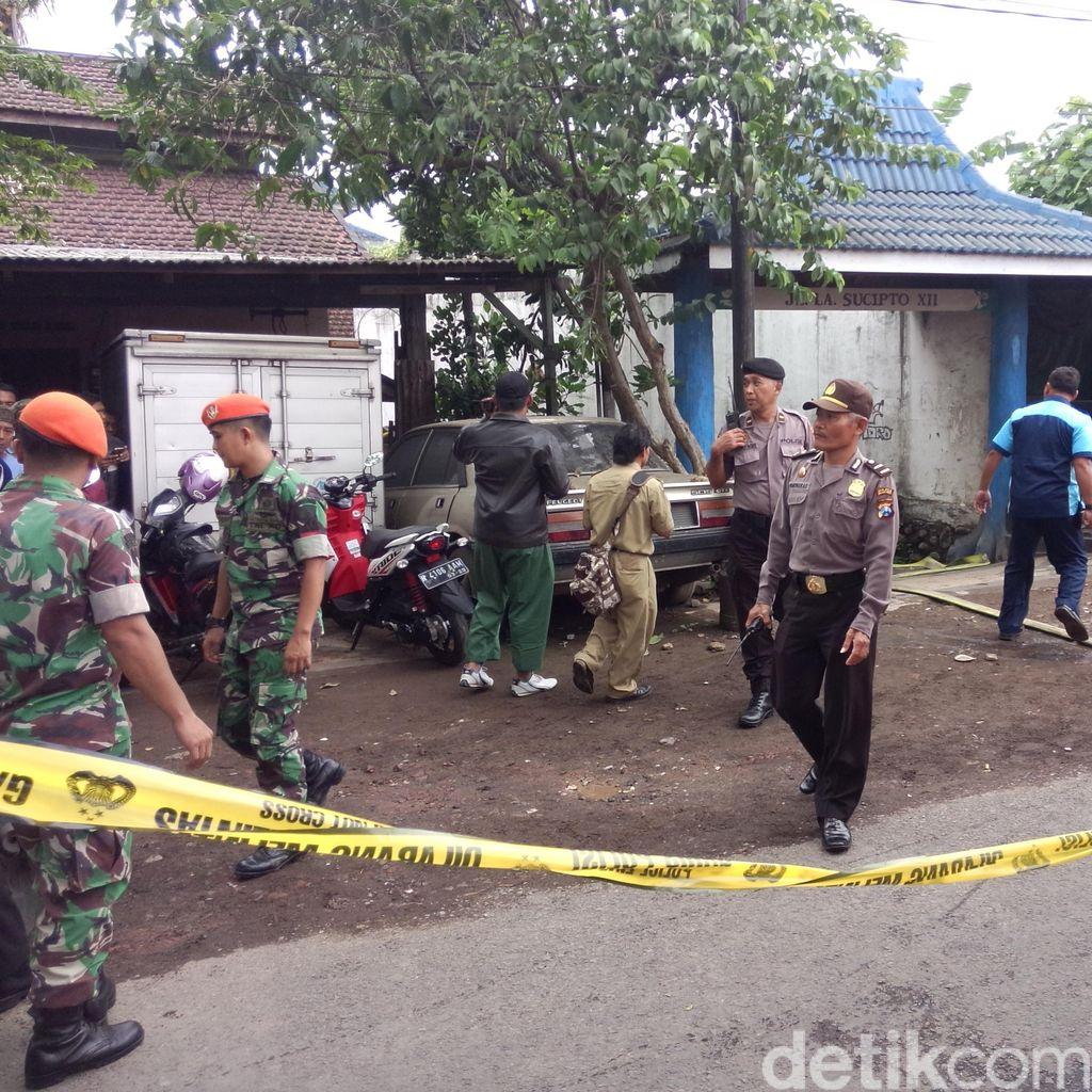 Pesawat Latih Jatuh, Jalan LA Sucipto Malang Ditutup