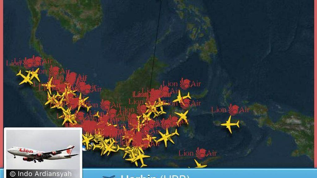 Lion Air Tujuan China Ditolak Masuk Taiwan, Pesawat Mendarat Lagi di Bali