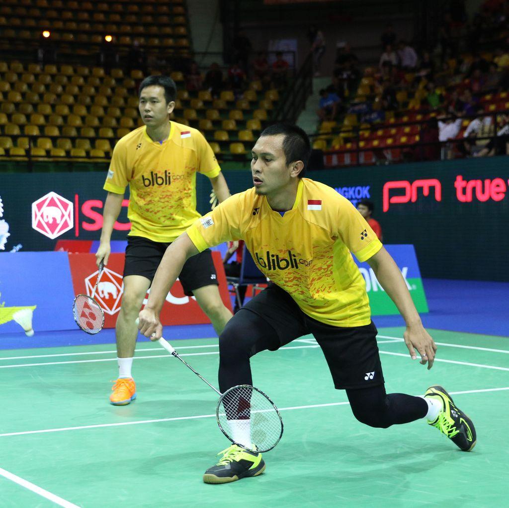Hendra/Ahsan Jadi Satu-satunya Wakil Indonesia di Semifinal