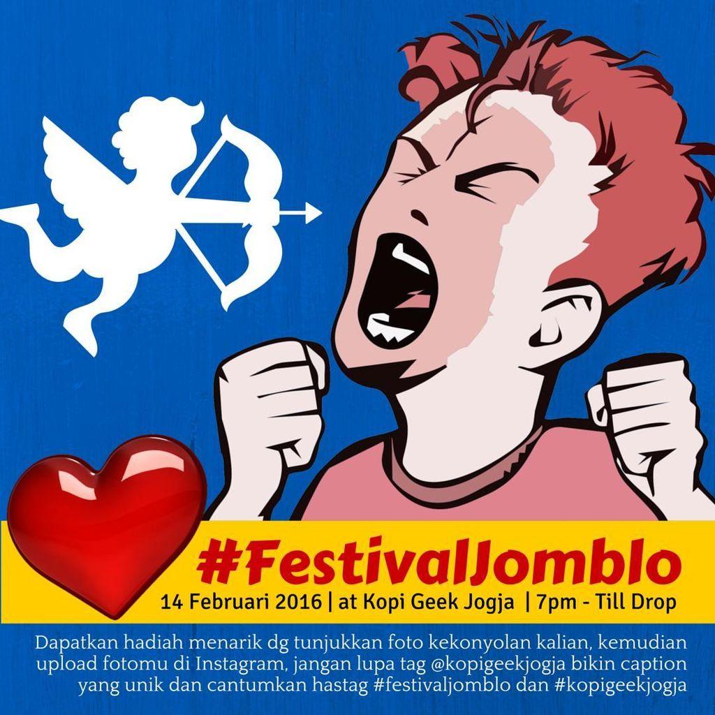 Ada Festival Jomblo di Yogyakarta!