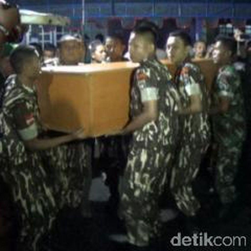 Jenazah Nurcholis, Korban Sipil Jatuhnya Pesawat Super Tucano Tiba di Blitar
