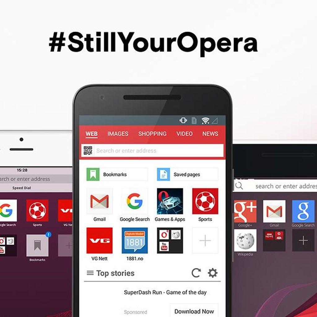 Mau Dicaplok Perusahaan China, Ini Kata Opera