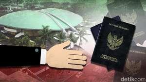 DPR Tak Perlu Paspor Hitam