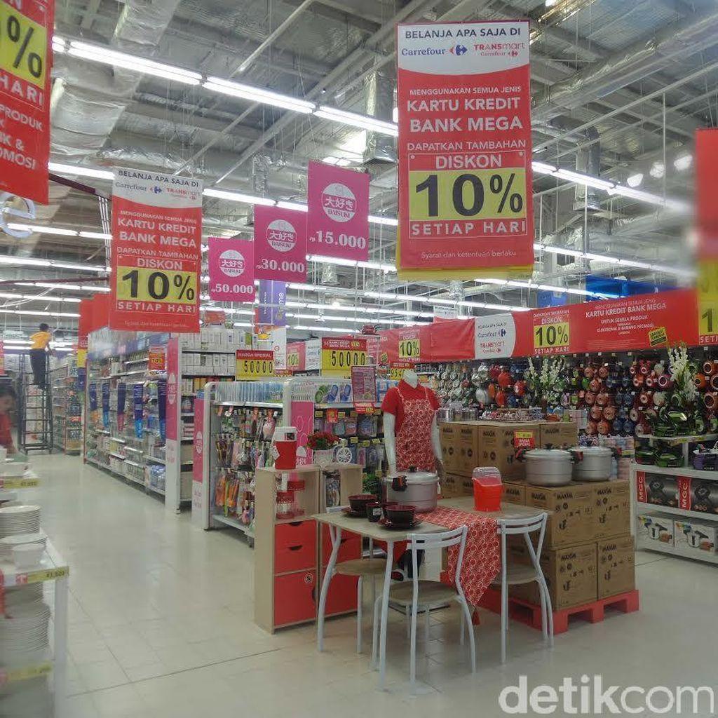 Pakaian Rapi Lebih Mudah dengan Promo Transmart Carrefour