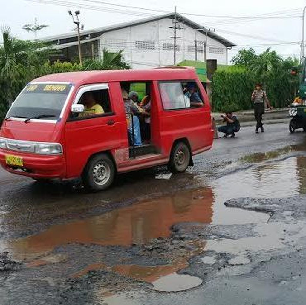 Polisi Sesalkan Pihak Terkait yang Enggan Urusi Jalan Kalianak