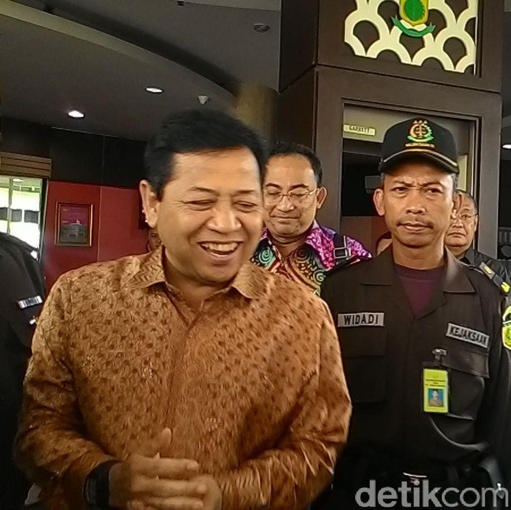 Kembali Diperiksa Kejagung, Novanto Tegaskan Tak Ada Pencatutan Nama Presiden