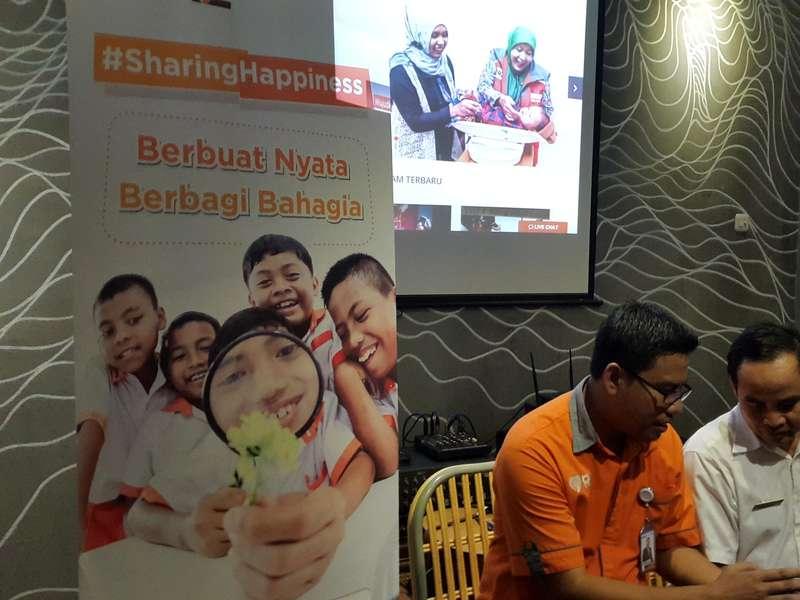 Rumah Zakat Gagas Gerakan Sharing Happiness