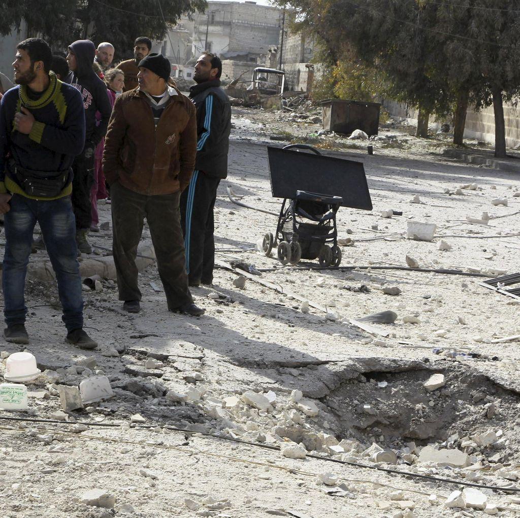 Lebih dari 500 Orang Tewas di Suriah Akibat Serangan Rezim Assad