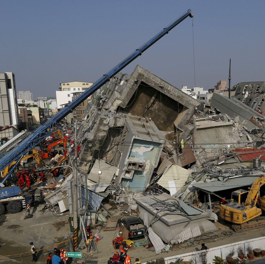 Taiwan Sita Aset Rp 12 M Milik Pengembang Apartemen yang Roboh Saat Gempa