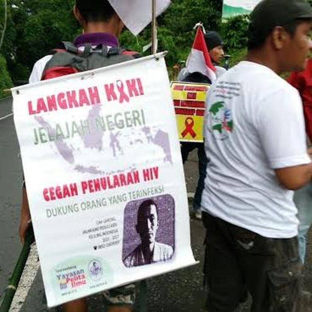 Cak Gareng, Pejuang ODHA Keliling Indonesia: ODHA Tidak Menderita