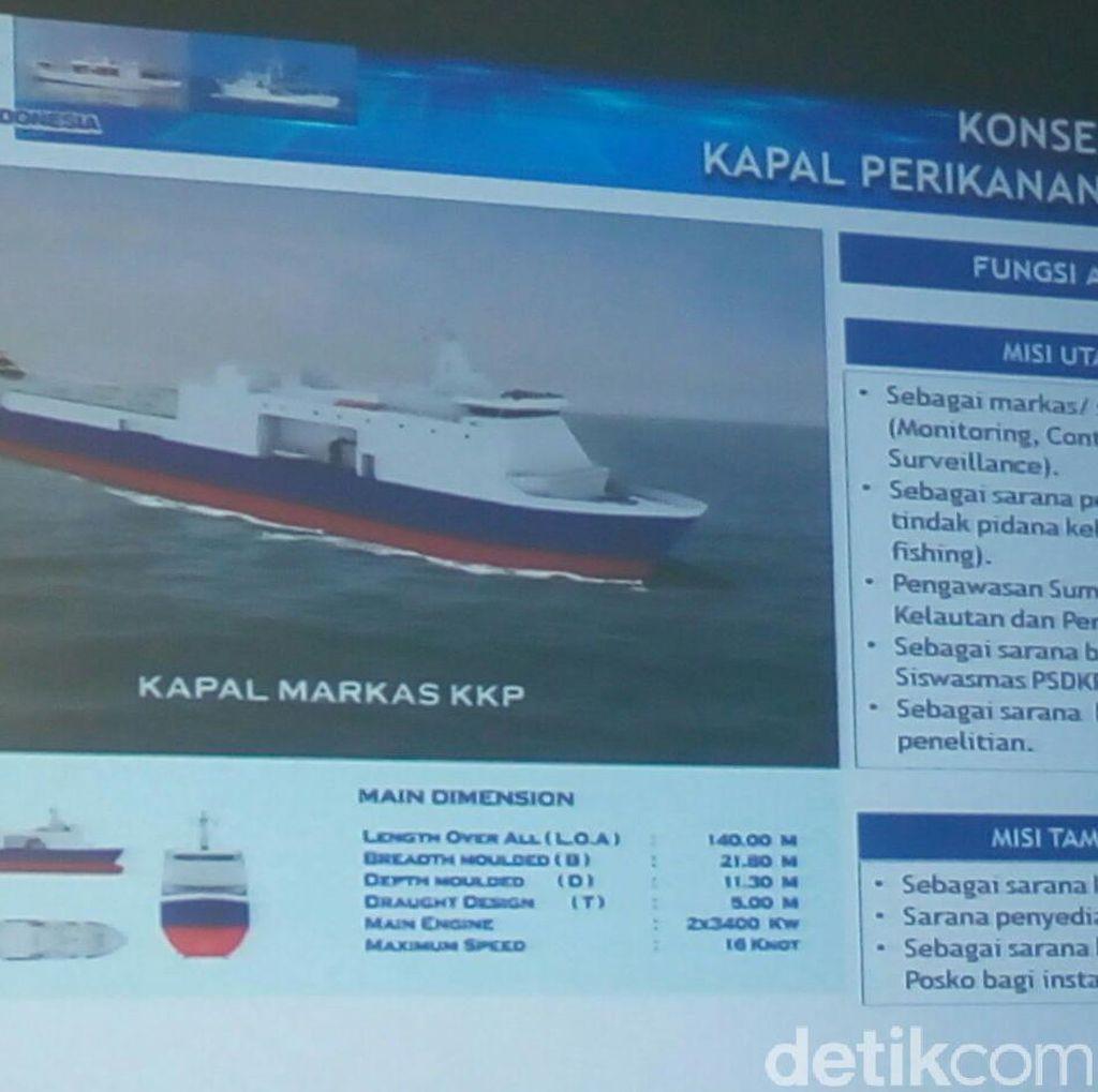 Ini Kapal Pemburu Pencuri Ikan Made in Surabaya