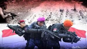 Heboh Latihan TNI Peluru Tajam